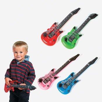 Eleganantamazing Rhode Island - Guitarra eléctrica Hinchable (12 Unidades)
