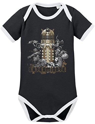 Dalek Kostüm Für Jungen - TShirt-People TSP Dalek Kontrast Baby Body