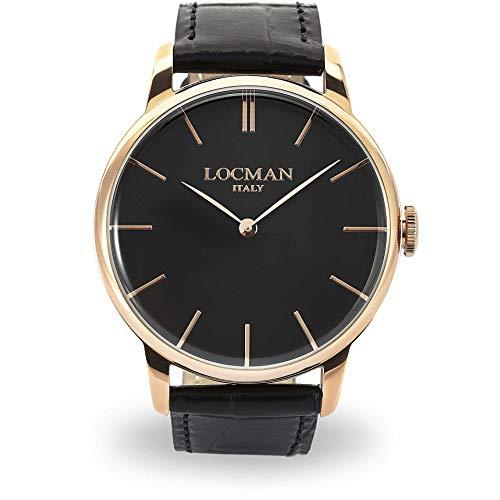 Montre Locman 0251V09RGBKRGPK Noir Acier Homme