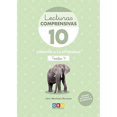 Lecturas Comprensivas 10/ Editorial Geu/ 3º primaria/ mejora la Comprensión Lectora/ Recomendado Como Apoyo/ Actividades