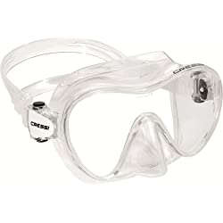 Cressi Sub S.p.A. F1 Junior Frameless Masque de plongée Transparent