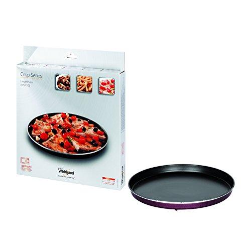 Whirlpool AVM305 - Mikrowellenzubehör/Crisp-Platte groß (Ø30,5cm) für die Mikrowelle/Passend...