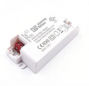 JZK® LED transformer driver converter 12v max 30w for LED lighting, G4, MR11, MR16 etc. by JZK