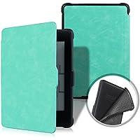 XIHAMA Funda para Kindle Paperwhite, Compatible con Todo Modo de Paperwhite Cuero de PU con Auto Encendido/Apagado(No para Nuevo Paperwhite 10th Gen) (Verde)
