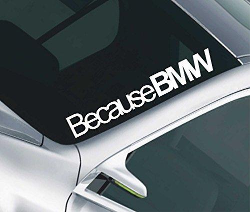 Denn BMW Auto, Windschutzscheibe Sunstrip Aufkleber Aufkleber JDM M3M5series123423
