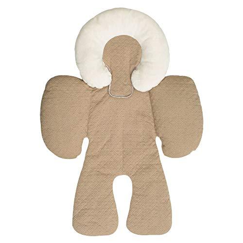 Babyschale Kissen,Sunday Kinder Kinderwagen Autositz Baumwolle Unterlage Kissen Baby Zubehör für 0-18 Monate (Khaki)