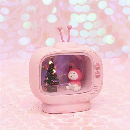 Kinder Schlafzimmer Licht Schöne Deer Mädchen Jungen Landschaft Modernen Stil Neuheit TV Box Led Nachtlicht Fee LED Lampen