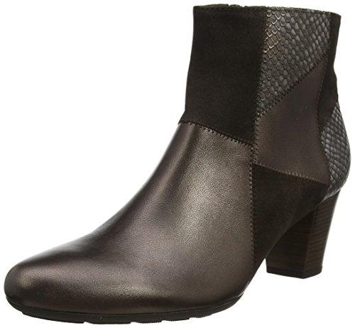 Gabor Shoes Damen Comfort Basic Stiefel, Mehrfarbig (65 Kupfer k. (Micro)), 41 EU (Schuhe Kupfer)