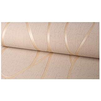 Papel tapiz No Tejido Efecto de rayas de Pared Dormitorios Salón Hotel Fondo De Tv Elegante Moderno Fine Decor 0.53x10m