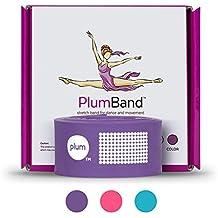 PlumBand - Sangle d'étirement de Ballet pour la Danse et la Gym - Plusieurs Tailles - Manuel d'instructions et Sac de Voyage Inclus (Version Anglaise)