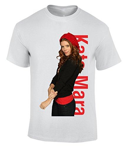 Kate Mara T-Shirt Herren Weiß