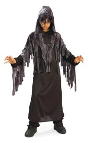 Halloween - Disfraz de Fantasma Maldito nocturno para niño, infantil 5-7 años (Rubie's 881104-M)