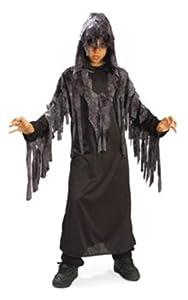 Halloween - Disfraz de Fantasma Maldito nocturno para niño, infantil 5-7 años (Rubie