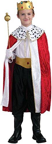 Kostüm Goddessey - Goddessey Llc FR48244PL-XL K-nig Kinderkost-m Gr-e Klein