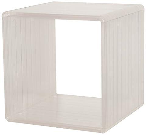 Cube Transparent - More Design ICECUBE-CL Cube de Rangement Plastique