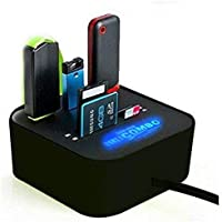 All in One Combo Card Reader for Pen Drive/Cameras/mobiles/PC/Laptop/Notebook/Tablet/or Docking Station/MP3s/PDAs,Color May Vary