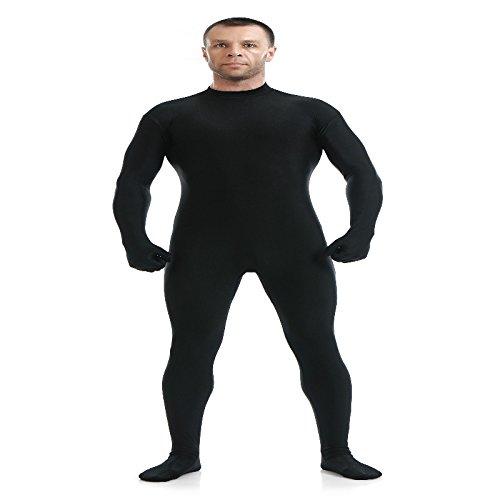 Blau Spandex Zentai Full Body Skin Tight Jumpsuit Zentai Suit Body Kostüm für Frauen Unitard Lycra Dancewear, (Body Spandex Full Schwarz)
