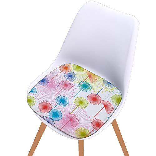 Cuscino di Seduta Cotone Stampato Cuscino per Sedia da Cucina da Giardino per Esterno per Ufficio casa Esterno