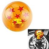 L&U 54MM Universal Dragon Ball Z Schaltknauf mit 3 Adaptern für die meisten Fahrzeuge,7STARS