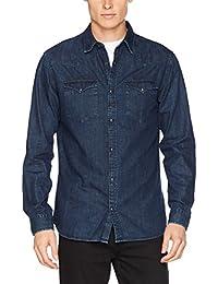 SELECTED HOMME Herren Jeans Hemd Shnonewill Shirt Ls