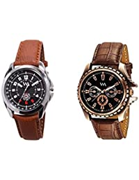 Watch Me Gift Combo Set Of Analog Watches For Men And Boys AWC-004-AWC-012 AWC-004-AWC-012omtbg
