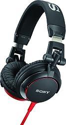 Sony MDRV55/BR DJ Stereo Kopfhörer Rot