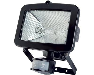 Timeguard SLB400G 400W Energy Saving PIR Halogen Floodlight - Black