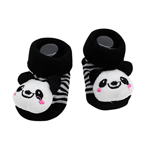 Preisvergleich Produktbild Vovotrade 15 verschiedene Karikatur Neugeborene Baby Jungen Anti Rutsch Socken Hefterzufuhr Schuh Aufladungen (I)