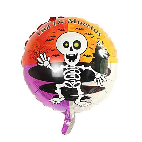 Round Skull: Woopower Balloons / 50Cm 60Cm 80Cm / Bat Spider Skull Witch Pumkin / Hallowe