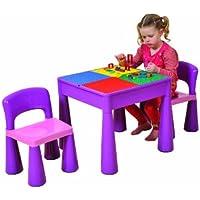 Liberty House Kindertisch mit zwei Stühlen lila preisvergleich bei kinderzimmerdekopreise.eu