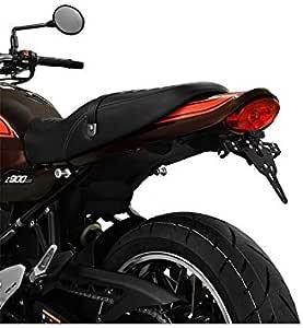 Kawasaki Z 900 Rs Z900 Rs Bj 2018 Kennzeichenhalter Kennzeichenträger Nummernschild Halter Halteplatte Inkl Kennzeichenbeleuchtung Und Rückstrahler Ibex Pro Auto