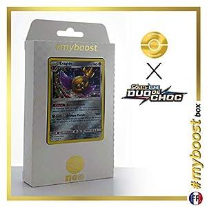 Exagide (Aegislash) 109/181 Holo - #myboost X Soleil & Lune 9 Duo de Choc - Box de 10 Cartas Pokémon Francés