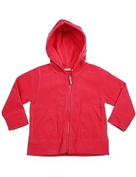 Mc. Baby Mädchen Fleecejacke, Jacke, Herbst, Winter mit Kapuze pink