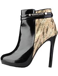 Botas Versace Jeans E0 VIBS14 76154 M05 negro - mujer
