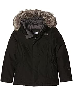 The North Face G Greenland Down - Anorak para Niña, color negro (black/tnfblk/graphtgr), talla Medium