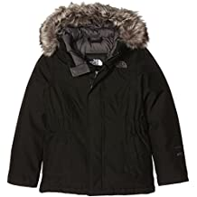 The North Face G Greenland Down - Anorak para Niña, color negro (black/tnfblk/graphtgr), talla Small