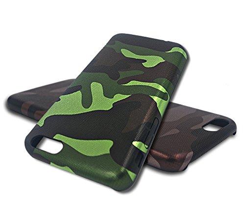 Apple Iphone 6 6S Hülle Nnopbeclik® TPU+PC Ultra Slim Silikon Schutzhülle Hard Back Cover Case, 3D Druck Print Camouflage Tarnung Schutzhülle Muster Full Protective Glänzend Kristall Stoßdämpfend Schu Camouflage C