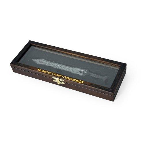 Der Hobbit - Brieföffner Thorin Eichenschilds Zwergen Schwert, 20cm, in Schmuckbox