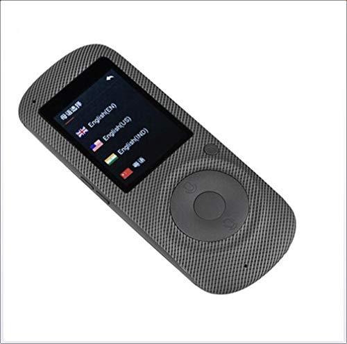 JKKL-C Intelligenter Sprachübersetzer, tragbarer 2,4-Zoll-HD-Touchscreen mit 16 Sprachen und Sprachreisen