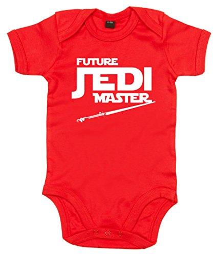 Image Vêtements bébé, Future Jedi Master, Body Bébé garçon, 0-3m, Rouge