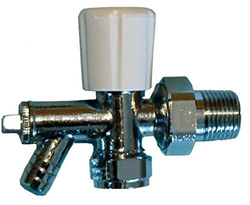 8MM Winkel Heizkörper Ventil mit Ablauf Off-Optima-5Stück -