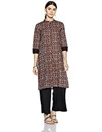 Myx Women's Cotton A-Line Kurta