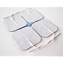 Healthcare World 12 Square Tens Electrodes White Pads For TPN Neurotrac Tenscare Flexi Libra TENS Machines by Healthcare World