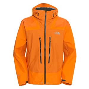 The North Face Men's Meru Gore Jacket in Gore-Tex® Active Shell 2013, Colour: Oriole Orange (VC0), Size: XL
