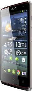 Acer Liquid E3 Duo Smartphone débloqué 4,7 pouces 4 Go Double SIM Android Jelly Bean Gris