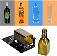 Professional Bottle Cutter, Glass Cutter Wine Bottle Cutting Tool Kit For Square/Round Bottles, DIY Crafting M