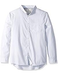 Quiksilver mens  Everyday Wilsden Short Sleeve Button Down Shirt long_sleeve Button-Down Shirt