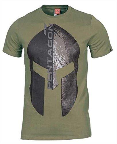 Pentagon Ageron T-Shirt Eternity Oliv, L, Oliv