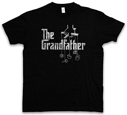THE GRANDFATHER T-SHIRT - Il Marlon Nonno Mafia Godfather Gangster padrino Mobster Mob Grandpa Fun Gift Brando Italy Sopranos Taglie S - 5XL