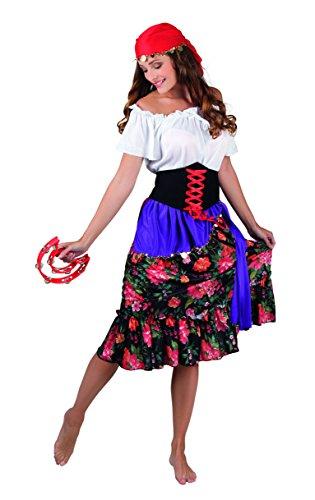 Kostüm 83565 - Zigeunerin Rilana, rot